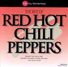RED HOT CHILI PEPPERS The Best Of Red Hot Chili Peppers [Madacy Records] album cover